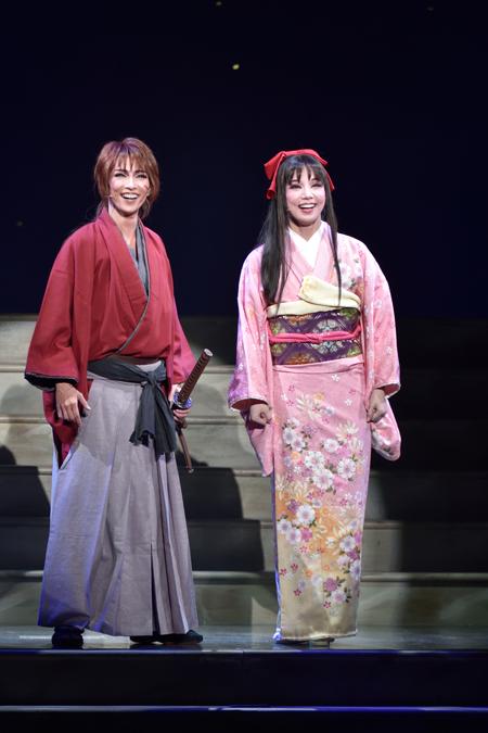 宝塚歌劇雪組『るろうに剣心』 撮影:三上富之