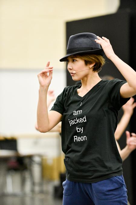 『REON JACK』公開稽古より 撮影:RyojiFukuoka
