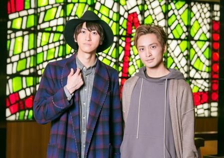 左から、相葉裕樹、矢田悠祐  撮影:福井麻衣子