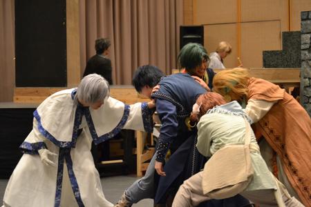 舞台『暁のヨナ』公開稽古より
