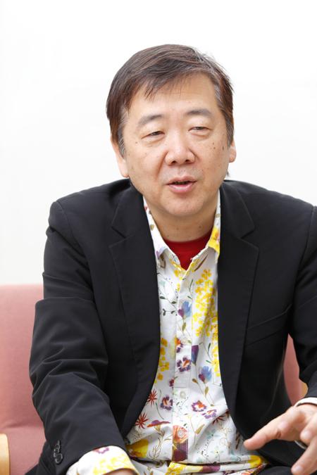 鴻上尚史  撮影:石阪大輔