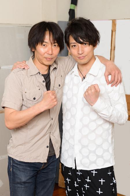 左から、岡田達也、陳内将 撮影:山本祐之