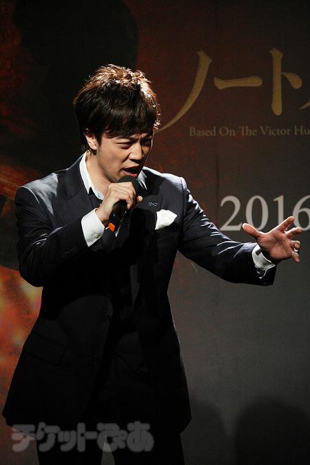 歌唱披露 飯田達郎