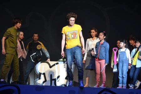 ミュージカル『ラディアント・ベイビー~キース・へリングの生涯~』