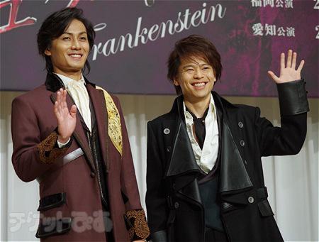 左から、加藤和樹、中川晃教