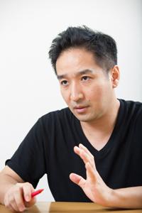 田尾下哲  撮影:石阪大輔