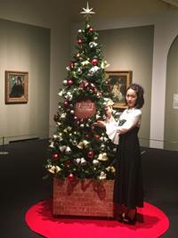 『デトロイト美術館展~大西洋を渡ったヨーロッパの名画たち~』のクリスマス・ナイトミュージアム開催セレモニーに出席した吉岡里帆