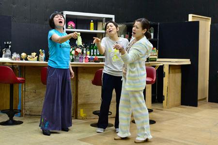 舞台『皆、シンデレラがやりたい。』稽古場より