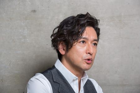 石丸幹二  撮影:福井麻衣子