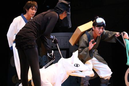 『舞台 増田こうすけ劇場 ギャグマンガ日和 ~奥の細道、地獄のランウェイ編~』ゲネプロより
