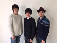 左から、庄野崎謙、原嶋元久、伊藤靖朗