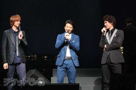 『デスノート THE CONCERT』より。左から、浦井健治、小池徹平、柿澤勇人