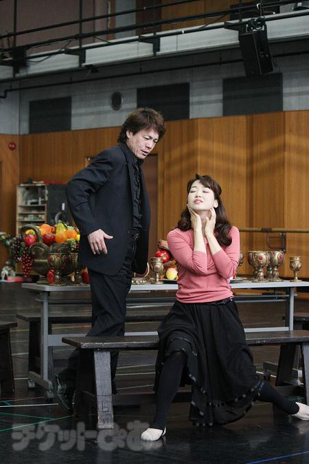 劇団四季『オペラ座の怪人』稽古場より