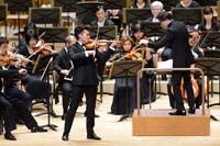 昨年の「オーケストラの日」演奏風景 Vn独奏レイ・チェン