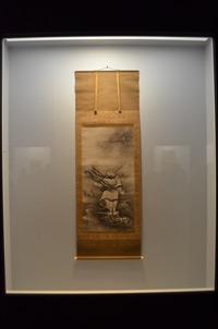 雪村筆《呂洞賓図》重要文化財 奈良・大和文華館蔵【展示期間:3月28日~4月23日】