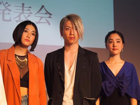 左から、Elina、早乙女友貴、吉田美佳子