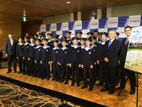 「ウィーン少年合唱団 2017年 日本公演」記者会見より 写真提供:ジャパン・アーツ