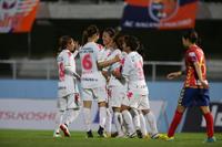1-0でINAC神戸レオネッサを下し、2017プレナスなでしこリーグカップ決勝進出を果たしたジェフユナイテッド市原・千葉レディース (c)J.LEAGUE