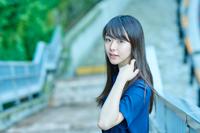 唐田えりか(朗読) (C)吉田タカユキ