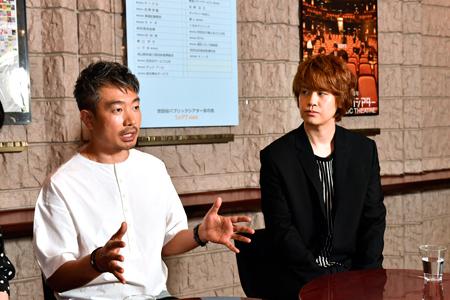左から、ヤン・ジョンウン、浦井健治  撮影:松谷祐増