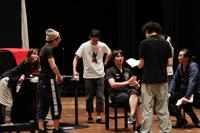 舞台『オーランドー』稽古場より 撮影:岡千里
