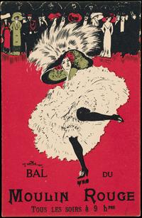 シャルル・ナイヨ《ダンスする女性シリーズ〈ムーラン・ルージュの舞踏会〉より》1905年 Collection of Leonard A. Lauder