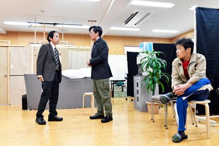 舞台「同郷同年」稽古場より 撮影:松谷祐増
