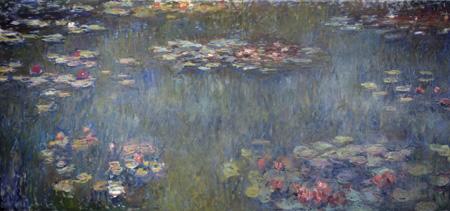 クロード・モネ《睡蓮の池、緑の反映》