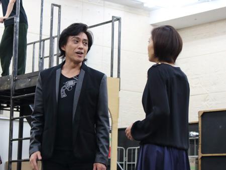 ミュージカル『スカーレット・ピンパーネル』公開稽古より