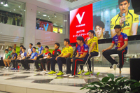 『2017/18 V・プレミアリーグ男女開幕』記者会見に臨んだ男子選手一同