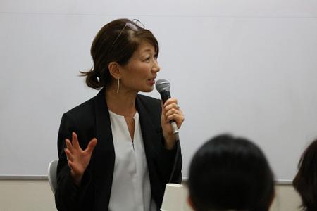 特別講義より。松本百合子