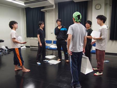 ゴジゲン第14回公演「くれなずめ」稽古場の様子