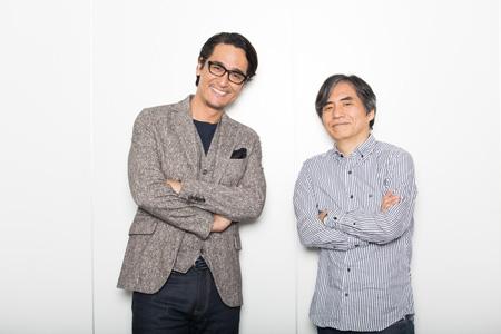 左から、橋本さとし、中島かずき  撮影:石阪大輔