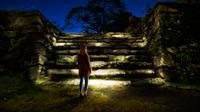 忘却の岩段 - 石城小天守台跡
