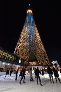 昨年のTOKYO SKYTREE TOWN(R) ICE SKATING PARKの様子 (C)TOKYO-SKYTREETOWN