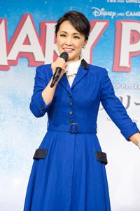 メリー・ポピンズ役 濱田めぐみ 撮影:イシイノブミ