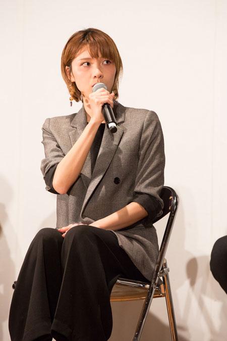 ハルカ  撮影:石阪大輔