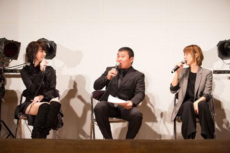 左から、凰稀かなめ、お宮の松、ハルカ  撮影:石阪大輔