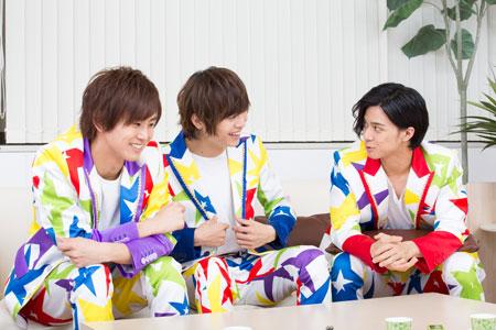 左から、正木郁、溝口琢矢、石原壮馬  撮影:石阪大輔