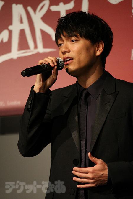 歌唱披露も。山崎育三郎