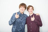 (画像左から)酒井一圭、スパイシーナカーノ 写真:石阪大輔