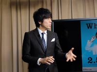 一般社団法人 日本2.5次元ミュージカル協会代表理事・松田誠 撮影:中川實穗