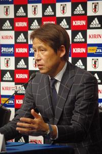 西野朗日本代表監督