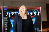 「フィデリオ」記者懇親会より  カタリーナ・ワーグナー  提供:新国立劇場