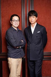 (画像左から)松井周、椎名桔平 撮影:源賀津己
