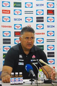 ジェイミー・ジョセフ日本代表ヘッドコーチ