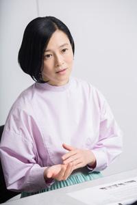 坂井真紀 撮影:石阪大輔