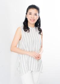川井郁子 撮影:川野結李歌