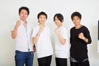 (画像左から)谷賢一、宮崎秋人、木村了、和田正人 撮影:石阪大輔