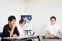 (画像左から)和田正人、木村了、宮崎秋人 撮影:石阪大輔